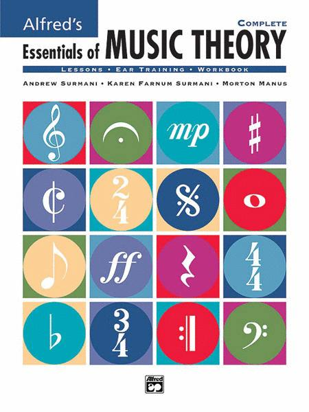 Alfred's Essentials of Music Theory - Complete (Book) by Andrew Surmani
